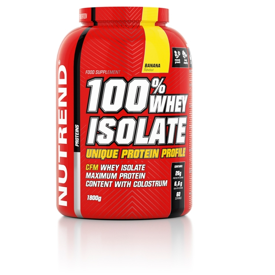 Whey protein isolate for muscle growth