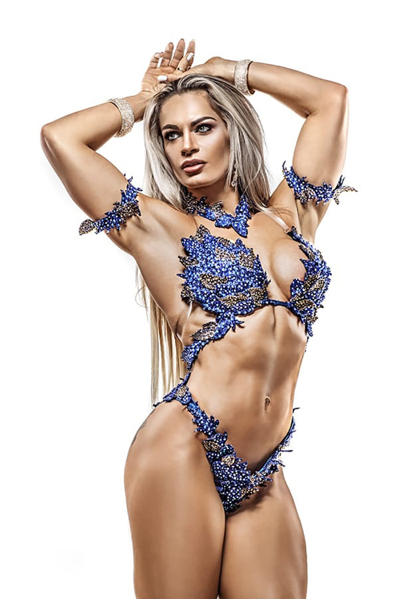 Evelien 4th at the European WBFF PRO | Nutrend Supplements