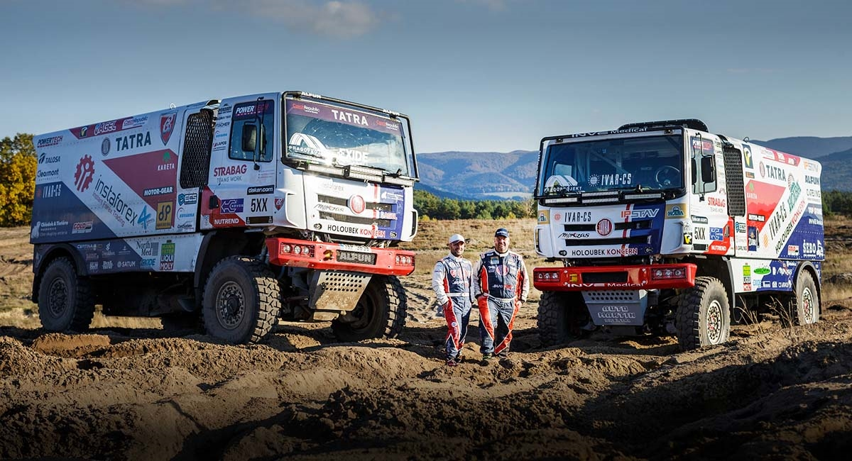 Buggyra Heading towards Dakar with Star Team of Kolomý – Loprais