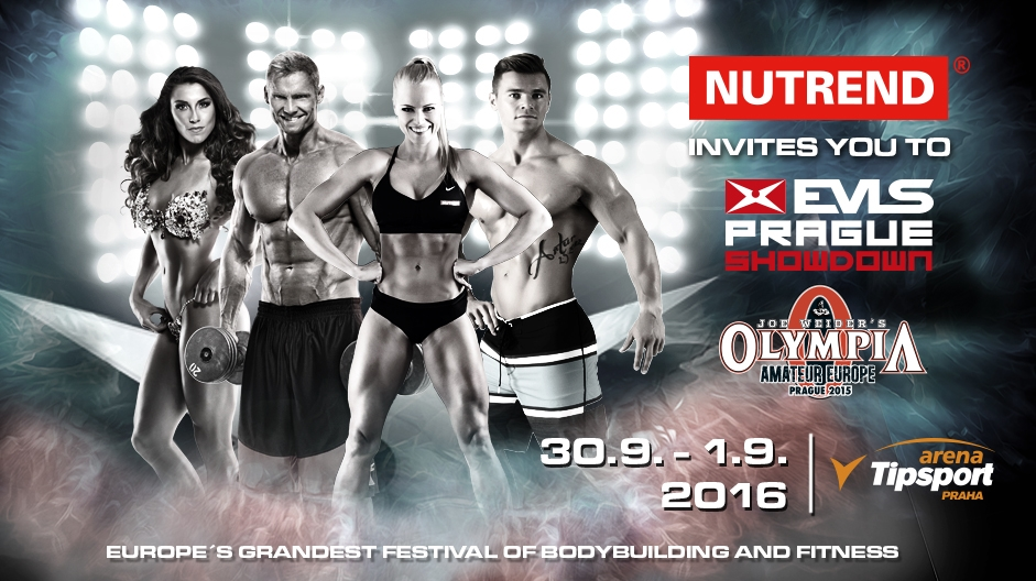 PROGRAM OF EVLS PRAGUE PRO + OLYMPIA AMATEUR EUROPE 2016