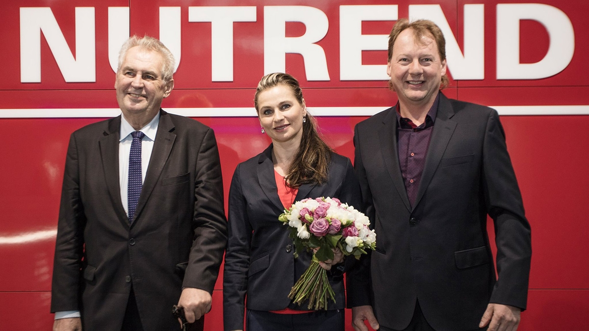 Mr. president Zeman visited the Nutrend company!