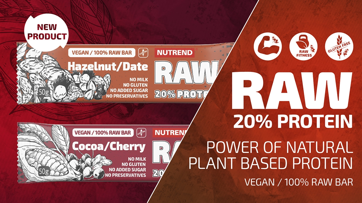 NEW RAW PROTEIN BAR