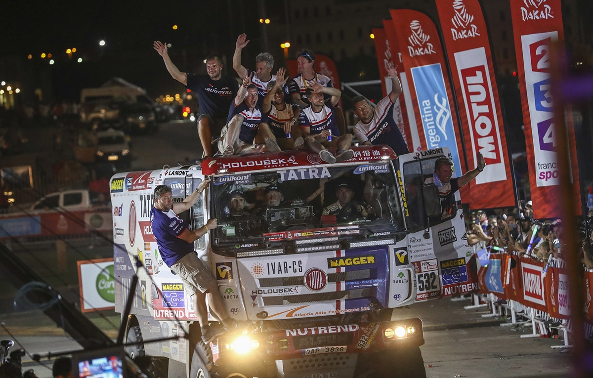 Kolomý, ther Knight of the Sorry Face of This Edition of Dakar Rally, Šoltys A Pleasant Surprise