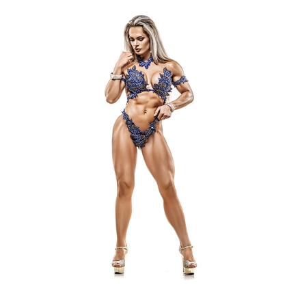 Evelien 4th at the European WBFF PRO