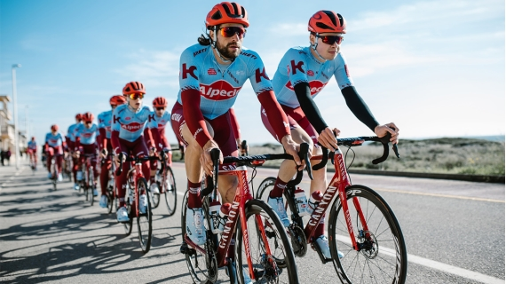 NUTREND is heading towards UCI World Tour with Team Katusha Alpecin