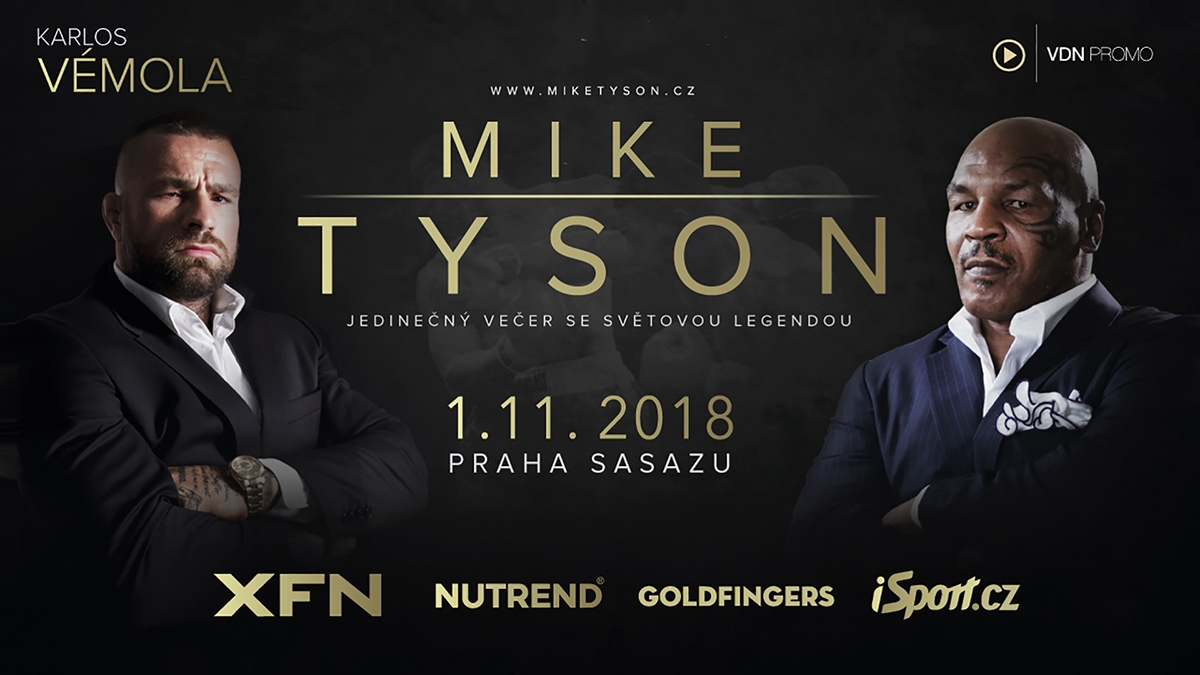 Mike Tyson tour with Karlos Vémola