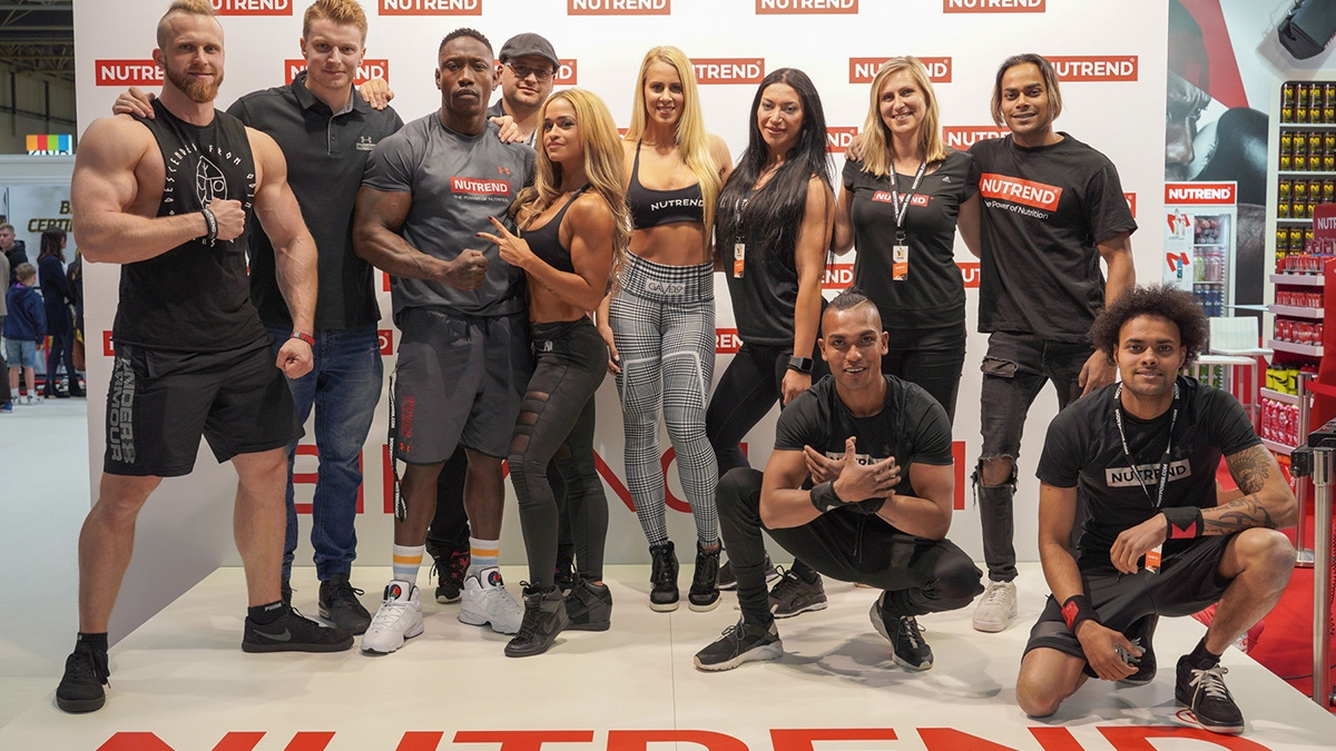 NUTREND ruled at BODYPOWER 2019
