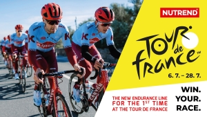 NUTREND being a part of the Tour de France for the first time
