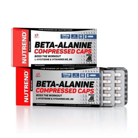 BETA-ALANINE COMPRESSED CAPS