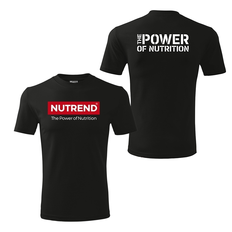 314f6823 Men's t-shirt black – NUTREND | Nutrend Supplements