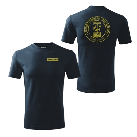 Men's t-shirt dark blue – 25 years