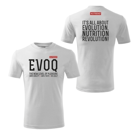 Men's t-shirt white – EVOQ