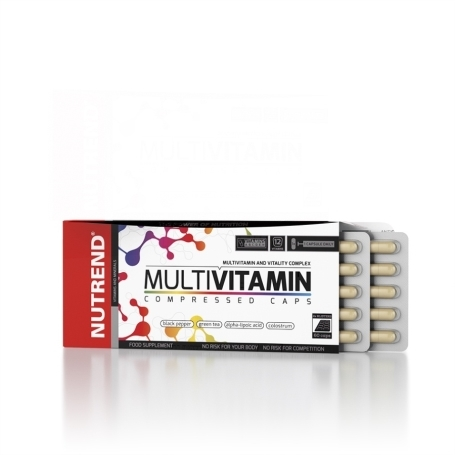 MULTIVITAMIN COMPRESSED CAPS
