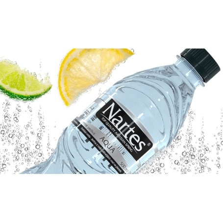 NARTES lightly sparkling water